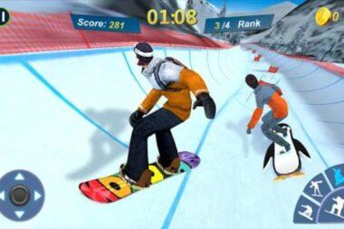 Snowboard Master 3D на Андроид