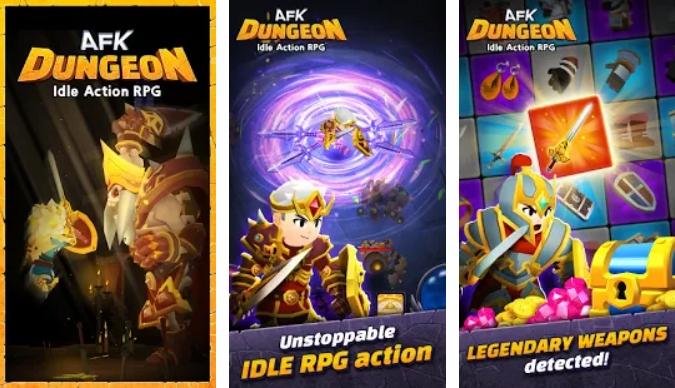 AFK Dungeon на Андроид