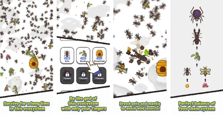 Ants and Mantis на Андроид