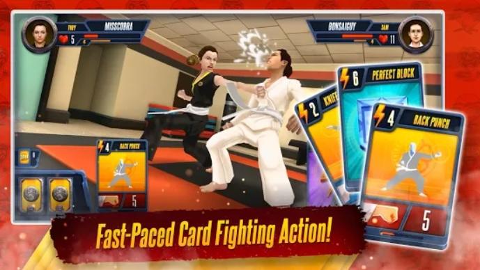Cobra Kai: Card Fighter на Андроид