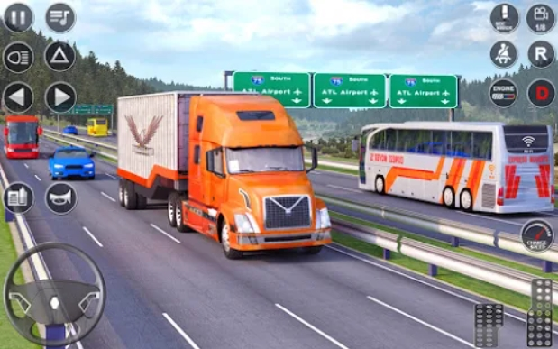 Euro Truck Driving Simulator 3D на Андроид