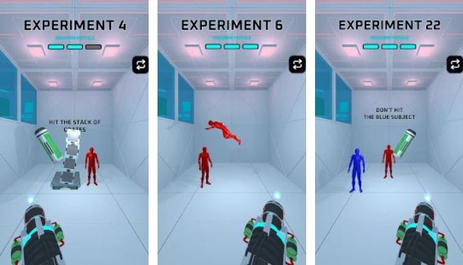 Portals Experiment на Андроид