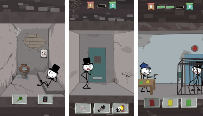 Prison Escape: Stickman Adventure на Андроид
