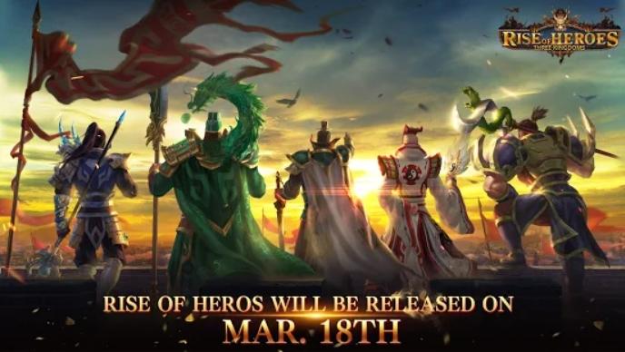 Rise of Heroes: Three Kingdoms на Андроид