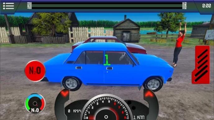 Russian Car - Drag Racing на Андроид