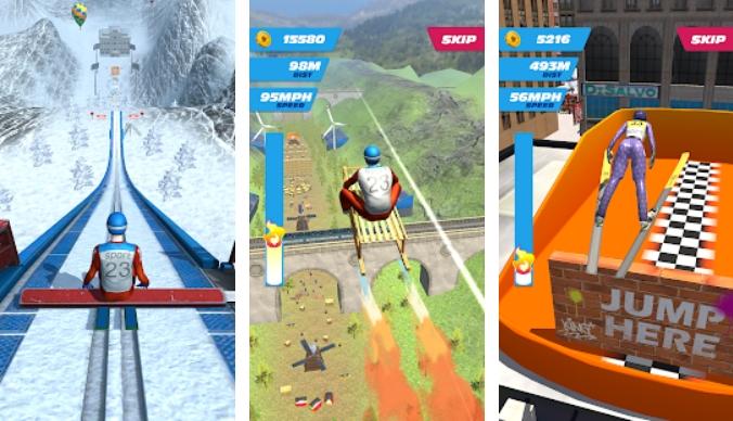 Ski Ramp Jumping на Андроид