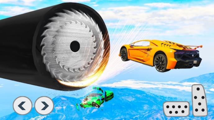 Superhero Car Stunts на Андроид