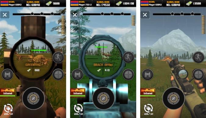 Wild Hunter: Dinosaur Hunting на Андроид