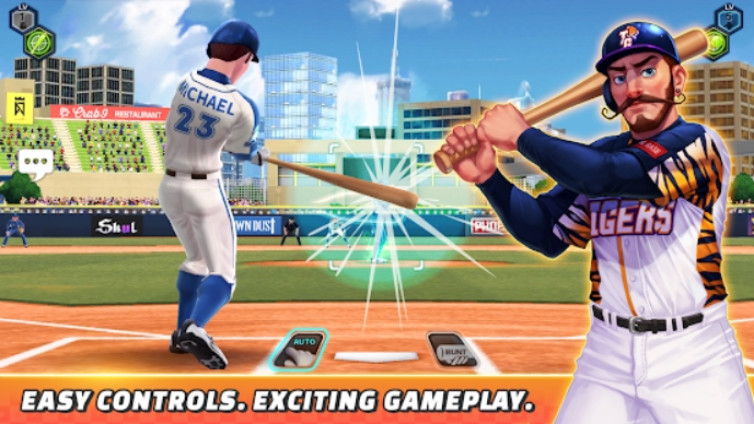 Baseball Clash на Андроид
