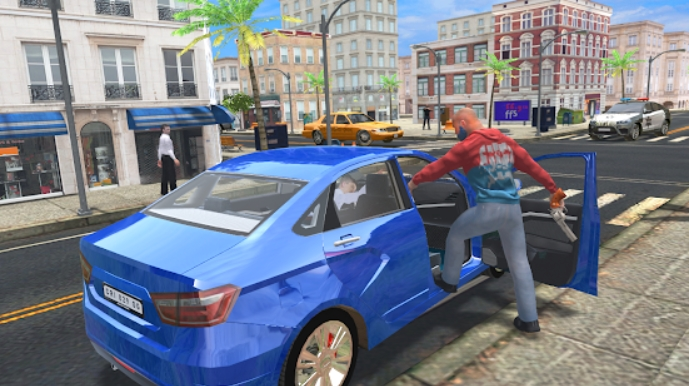 Crime Simulator - Theft Auto на Андроид