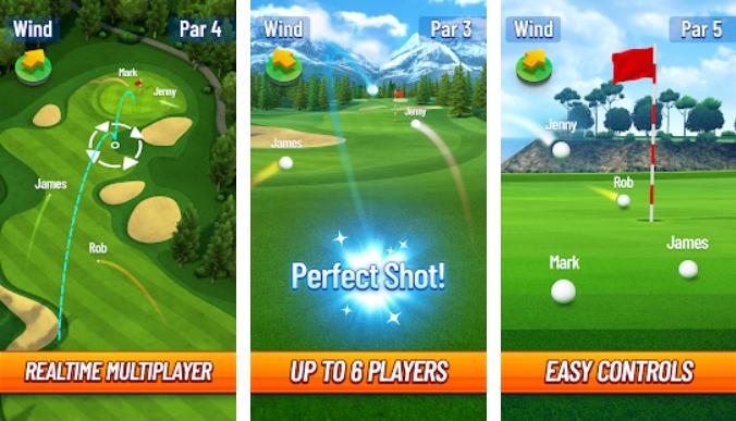 Golf Strike на Андроид