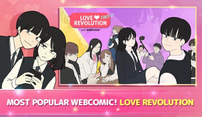 Love Revolution на Андроид