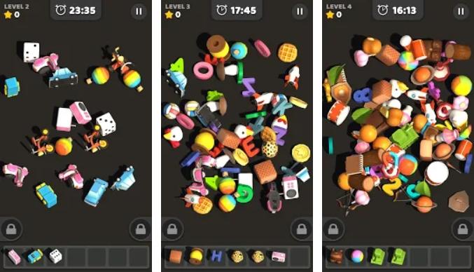 Match Tile 3D на Андроид