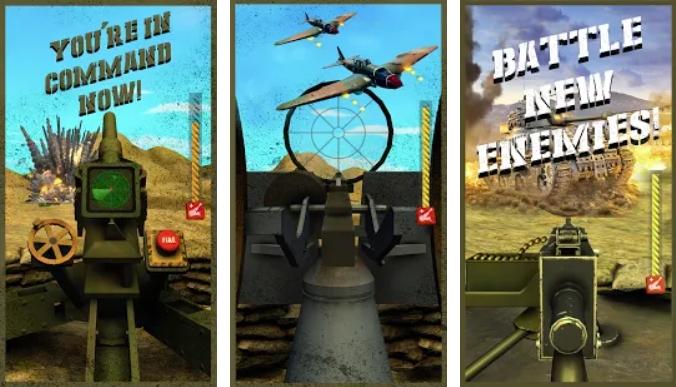 Mortar Clash 3D на Андроид