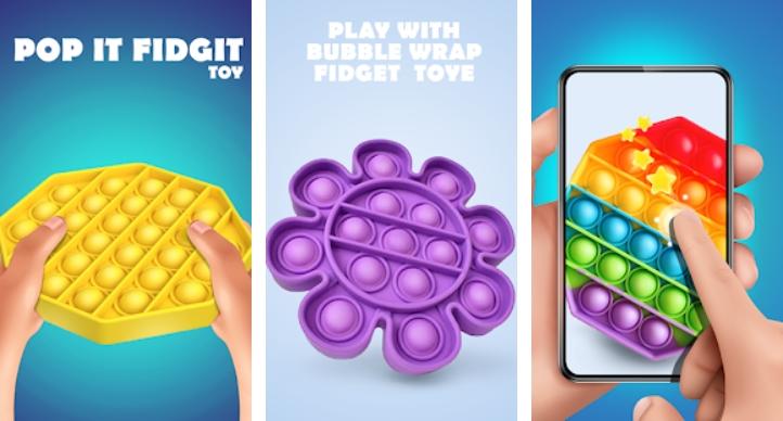 Pop It Sensory Fidget Toys 3d на Андроид