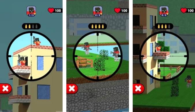 Sniper Craft 3D на Андроид