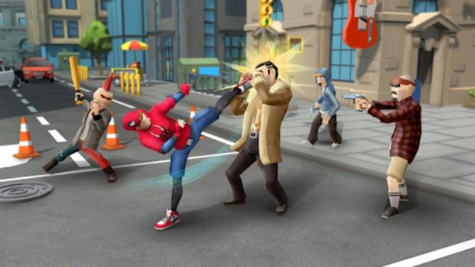 Spider Fighter: Superhero Revenge на Андроид