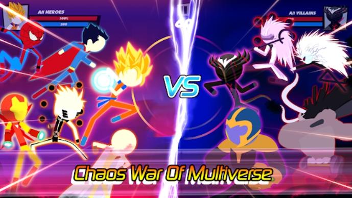 Super Stick Fight All-Star Hero на Андроид