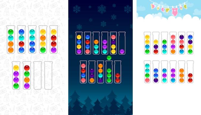 Ball Sort Color Water Puzzle на Андроид