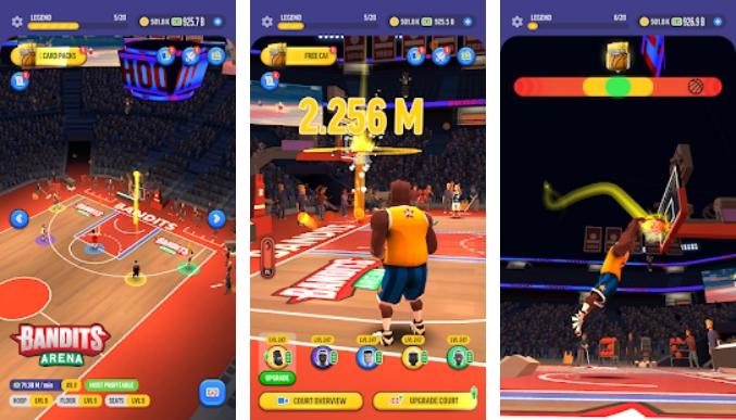 Basketball Legends Tycoon на Андроид