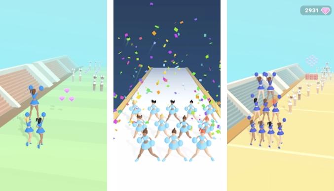 Cheerleader Run 3D на Андроид