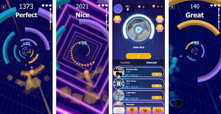 Dancing Color: Smash Circles на Андроид