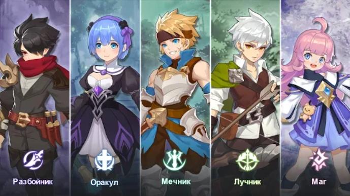 Guardians of Cloudia на Андроид