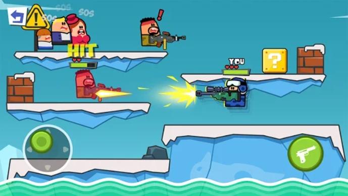 Gun n Jump на Андроид