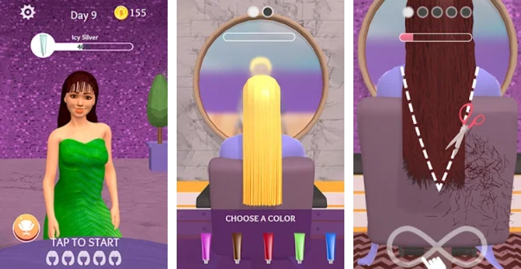 Hair Dye на Андроид