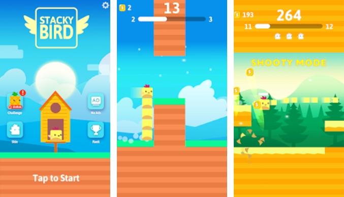Hyper Casual Flying Birdie Game на Андроид