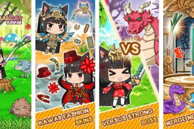 Isekai Samurai Cat Kawaii на Андроид