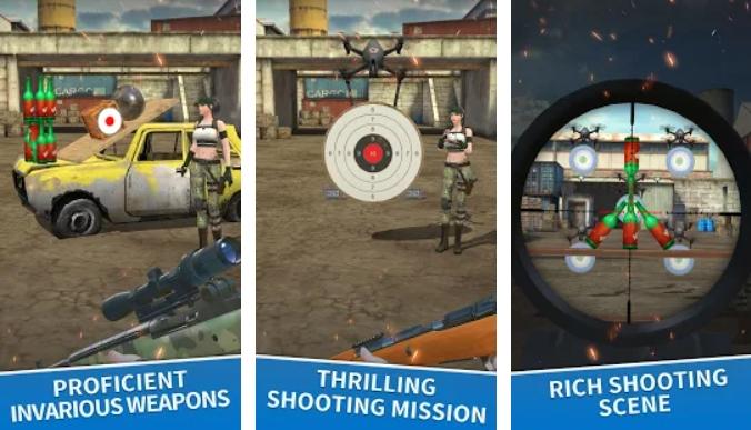 Sniper Range на Андроид
