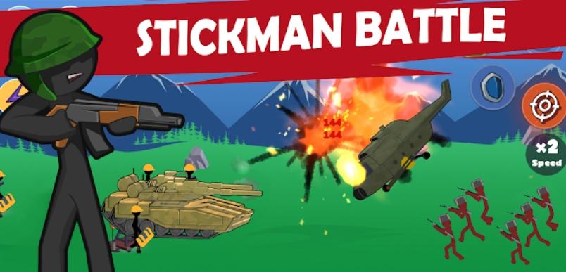 Stickman World War на Андроид