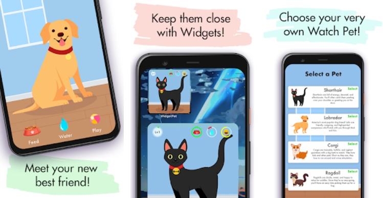 Watch Pet на Андроид