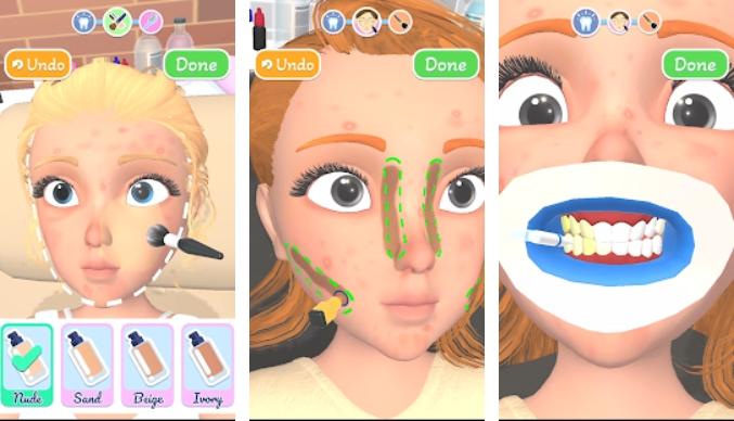 Makeover Studio 3D на Андроид